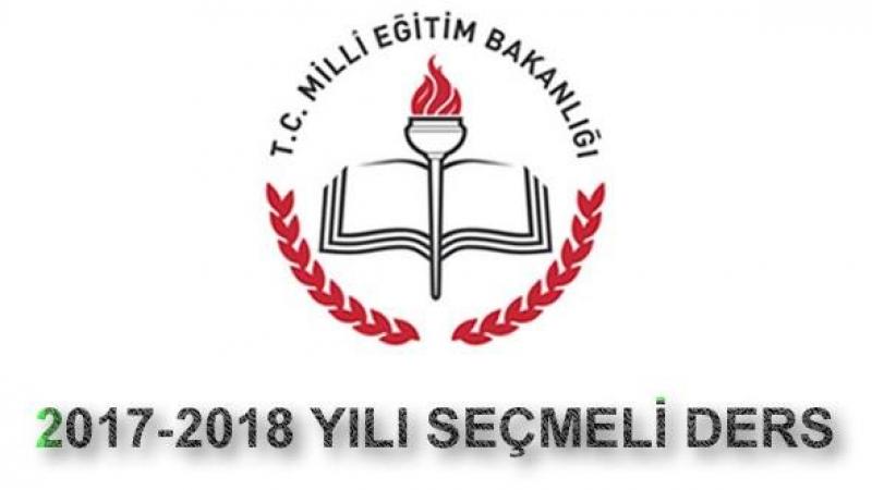 2017-2018 Yılının Seçmeli Ders Tercihleri