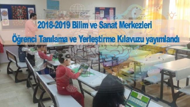 2018-2019 Yılı BİLSEM Kılavuzu