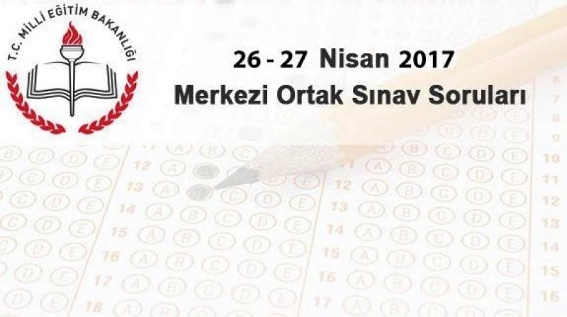 8.Sınıflar TEOG Sınav Soruları ve Cevapları (26-27 Nisan)