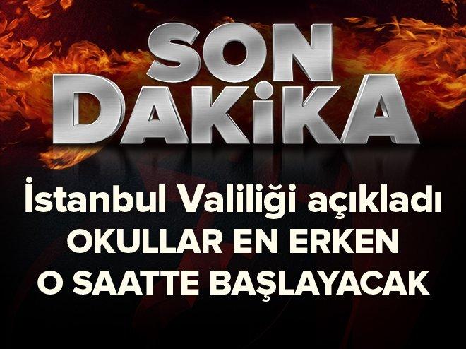 İstanbul'da okul saati düzenlemesi