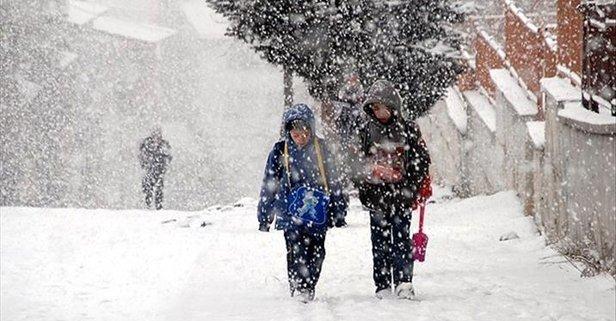 Kar Tatili Olan İller 8 Ocak 2019