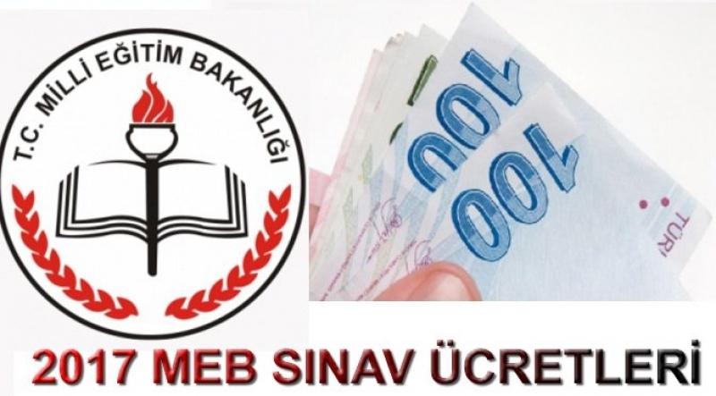 MEB 2017 Yılı Sınav Görevli, Salon Başkanı-Gözetmen Ücretleri