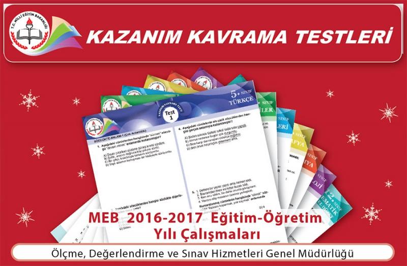 MEB 8. sınıflar için 4. değerlendirme sınavını yayınladı