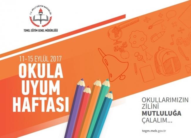 Okula Uyum Haftası 11 Eylül'de Başlıyor!