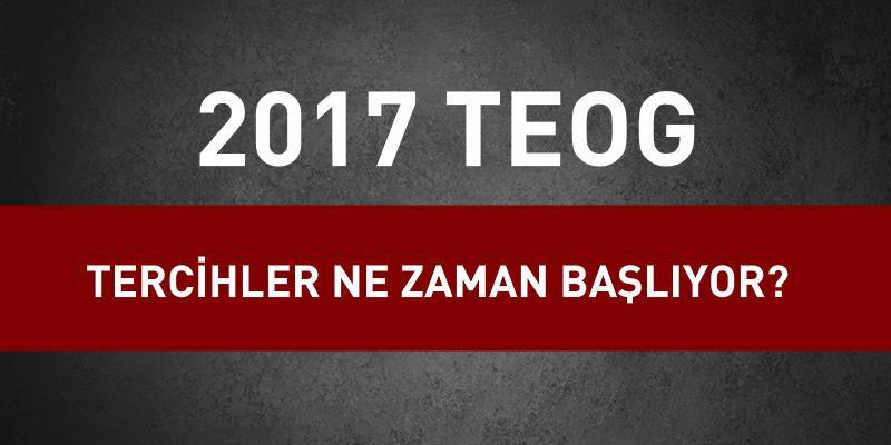 TEOG Tercihlerine MEB Tarih Verdi!