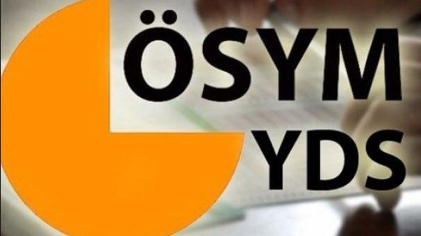 YDS başvuruları için bugün son gün