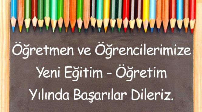 Yeni Eğitim ve öğretim Yılı