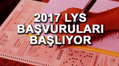 2017 LYS Başvuruları Başladı