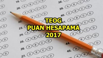 2017 TEOG Puanı Hesapla