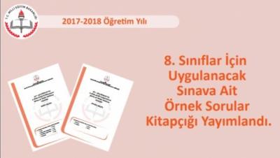 2018 Liseye Giriş Sınavı Sayısal ve Sözel Bölüm Örnek Soruları