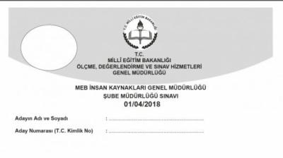 2018 MEB Şube Müdürlüğü Sınavı Soruları Ve Cevapları
