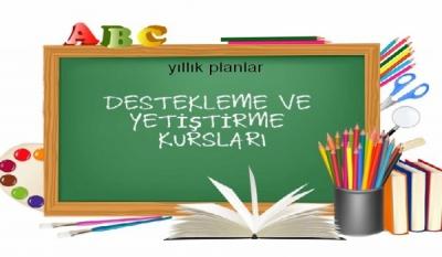 6. Sınıf Kurs Planları 2017-2018