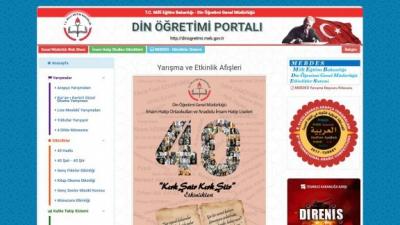 Din Öğretimi Portalı yayın hayatına başladı