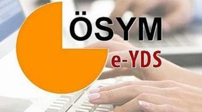 Elektronik Yabancı Dil Sınavı (e-YDS) sonuçları açıklandı.