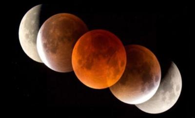 Kanlı Ay Tutulması 2019 ne zaman saat kaçta?