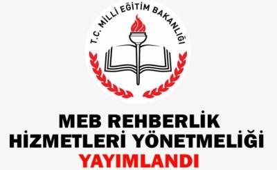 MEB Rehberlik Hizmetleri Yönetmeliği (Yeni)