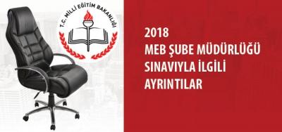 MEB'den Şube Müdürlüğü İçin Görevde Yükselme Yazılı Sınavı Duyurusu