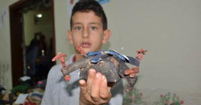Öğrenciler Şeker Pancarından Drone Yaptı
