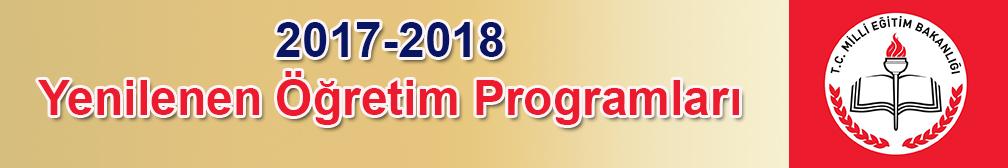 Yenilenen Öğretim Programları